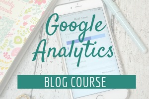google analytics blog course