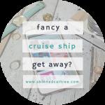 Fancy a cruise ship get away?
