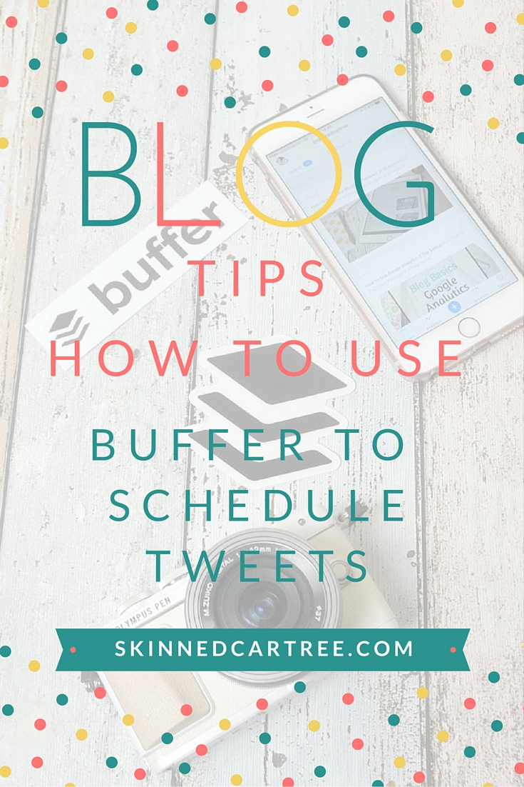 how to use buffer to quickly schedule tweets
