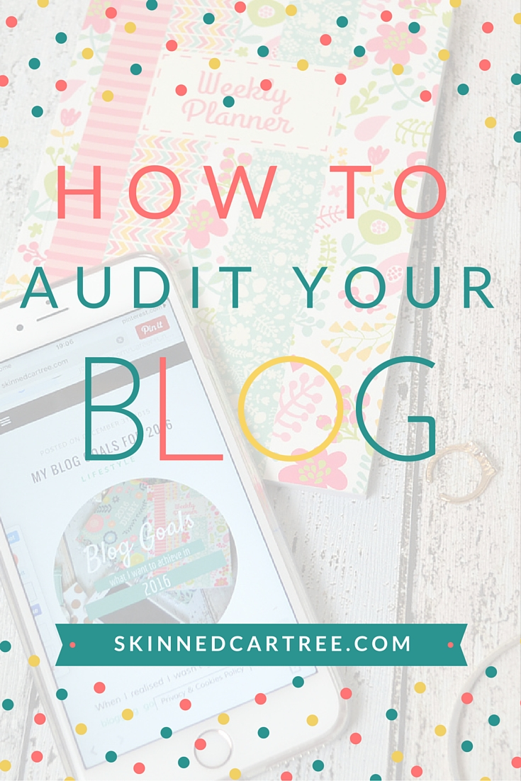 audit your blog