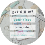 Get £15 off your first ride in an Uber Taxi