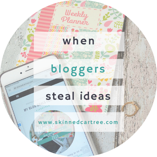 bloggers steal ideas