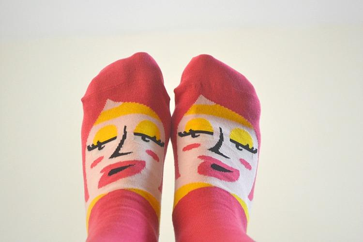 chatty feet funky socks