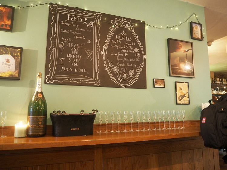 A #NuitDeLuxe with Moët & Chandon