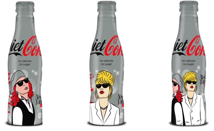 diet coke absolutely fabulous