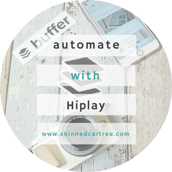 automate your tweets with hiplay