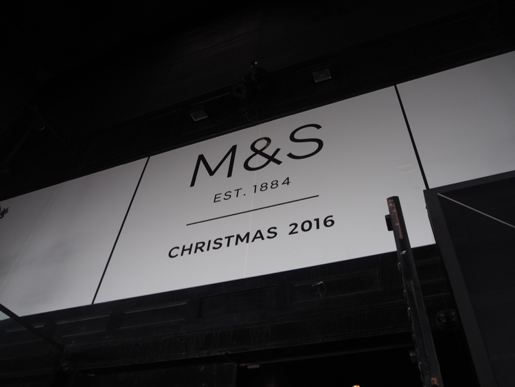 marks and spencer christmas 2016