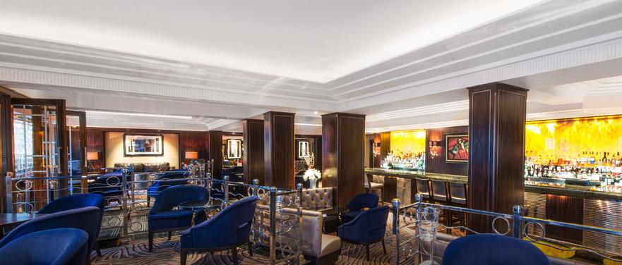 Polo Lounge at Westbury Hotel