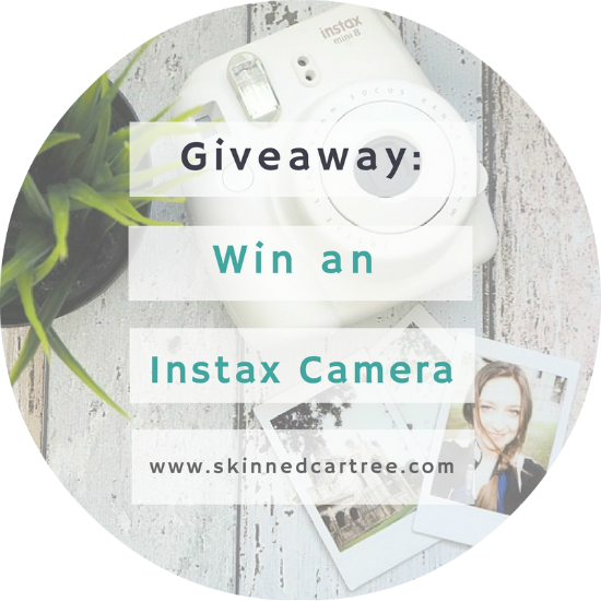 giveaway instax camera
