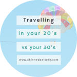 Travelling in your 20's vs your 30's