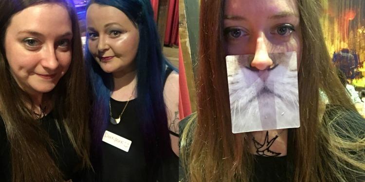 dorkface and skinnedcartree girl gang