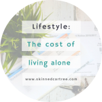 How much it costs to live alone.