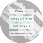 Bloggers Blog Awards 2016