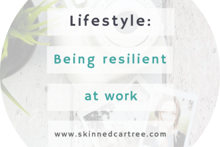 how to be resilient at work