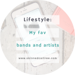 My favourite bands and artists