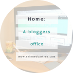 A Bloggers Desk and Office