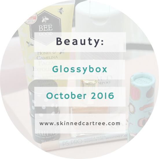 glossybox october 2016 uk
