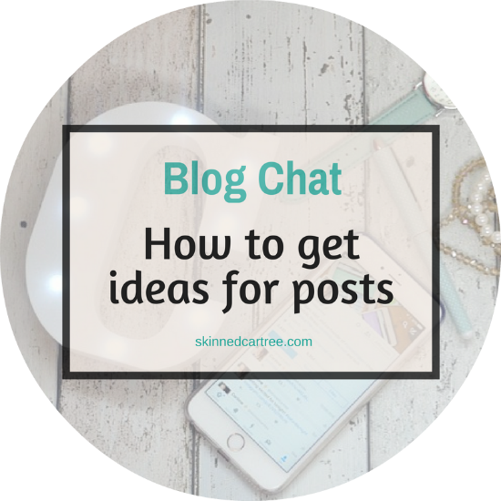 how to get blog post ideas
