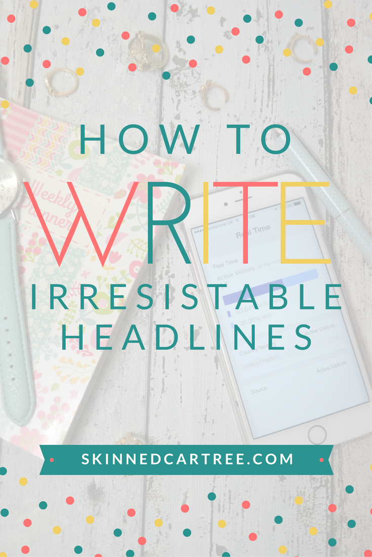 how to write blog good blog headlines and titles