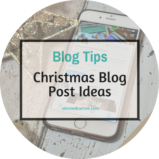 christmas themed blog posts
