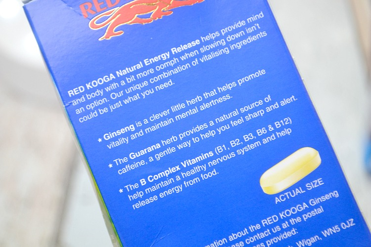 red kooga ginseng energy