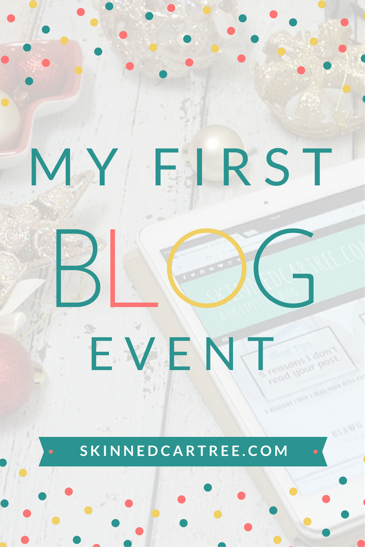 nervous at first blog event