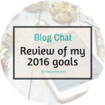 Review of my 2016 blog goals