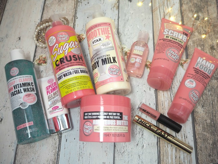 Soap And Glory Gift Set The Whole Glam Lot
