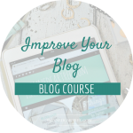 Improve your blog in 2017 with my 8 week blog course.