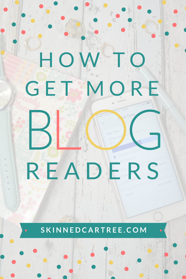 How to get more readers to your blog