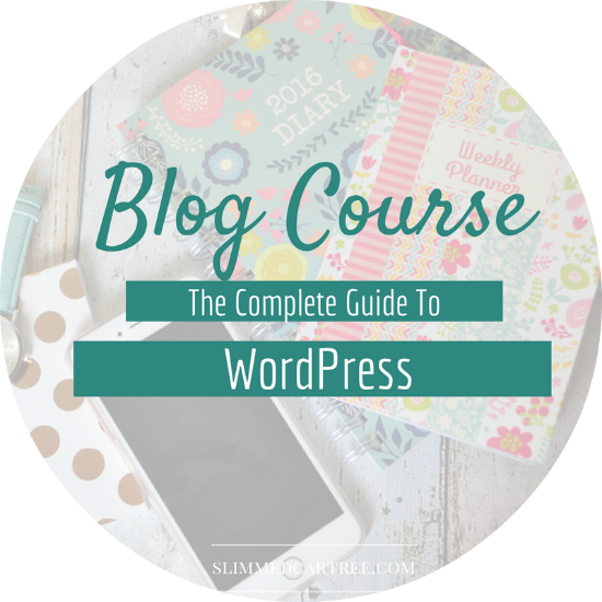 The Complete Guide To WordPress Blog Course