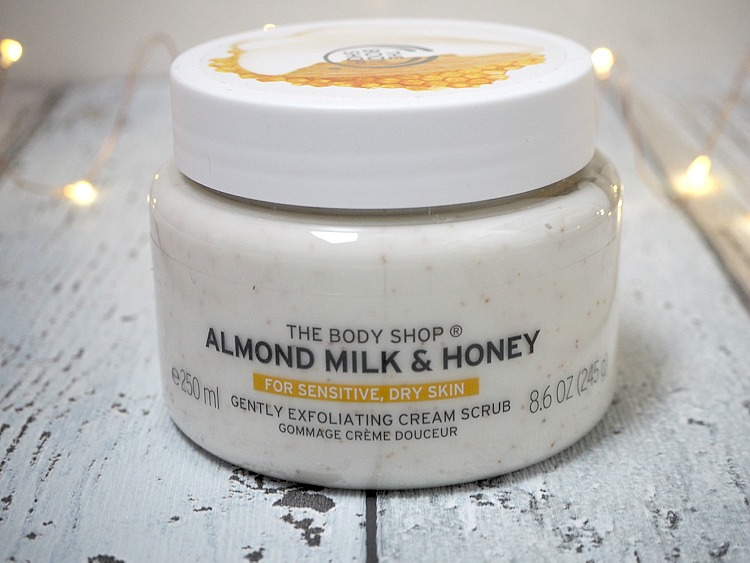 body shop almond milk honey