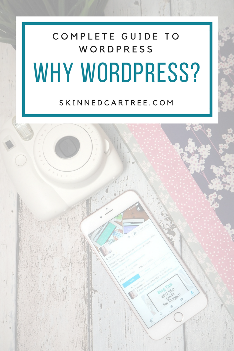 why should i blog on wordpress?