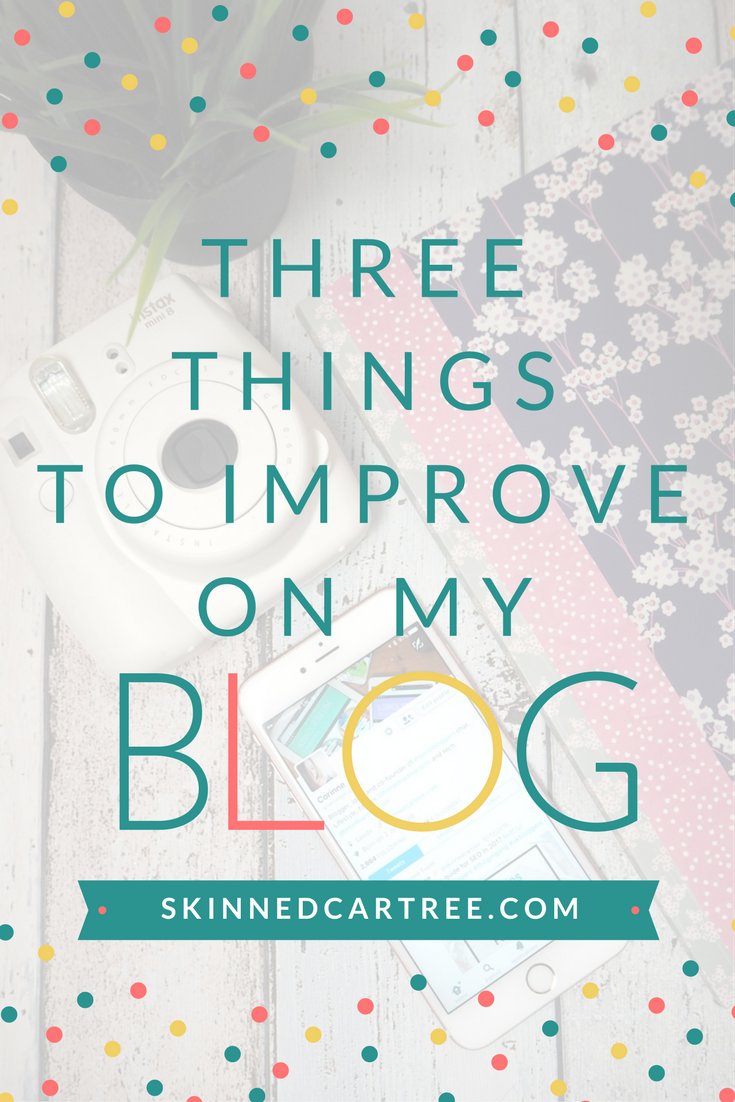 three blog goals
