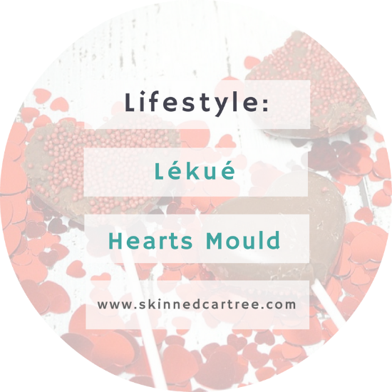 Lékué pop heart moulds