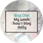 My typical week working full time, daily blogging, going to the gym and doing a relationship