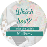 The Complete Guide To WordPress // Picking a hosting company