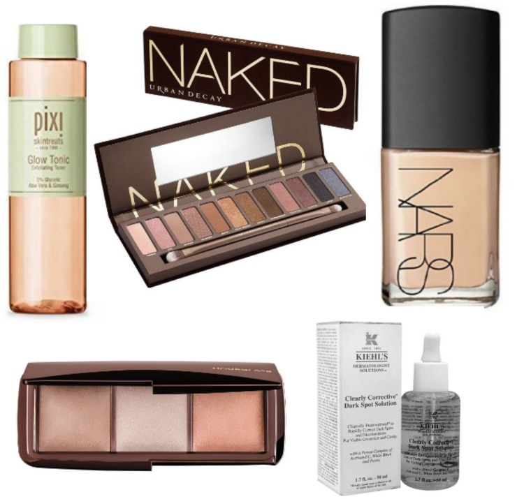 Beauty product wish list