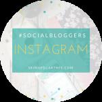 #socialbloggers 139 // Instagram