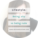 Being Shy vs Being Rude