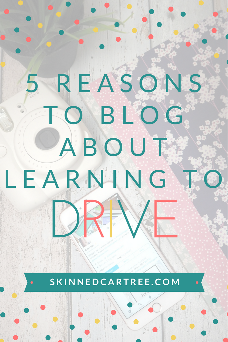 blog about learning to drive