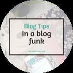 In a blog funk