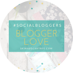 #socialbloggers 147 // Blogging Love and the last chat.