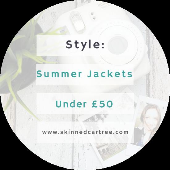 Summer Jackets under £50