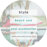 Beach and poolside accessories