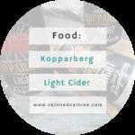 New In // Kopparberg Raspberry Light Cider