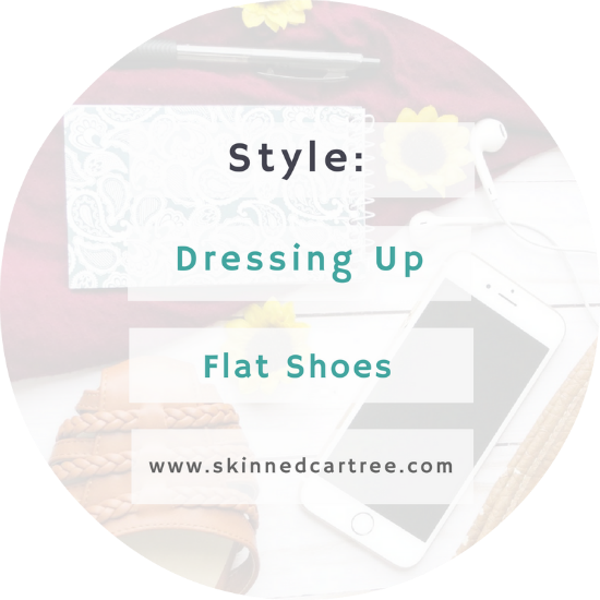 A guide to dressing up flat shoes