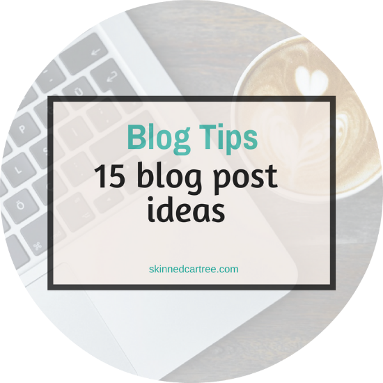 15 blog post ideas to schedule ahead of time