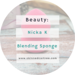 Nicka K airbrush fx blending sponge