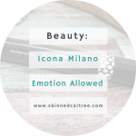 ICONA MILANO Emotion Allowed
